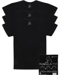 KUWALLA - Cotton Crew Tee - Pack Of 3 - Lyst