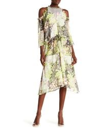 Opening Ceremony - Floral Pearl Tiered Dress - Lyst