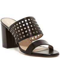 08d5d5f0a4d Bruno Magli - Cathy Perforated Leather Sandal - Lyst