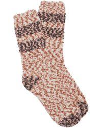 Free People - Lucky Stripes Slipper Socks - Lyst