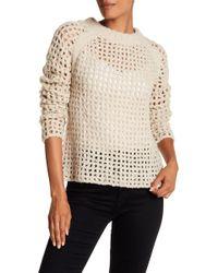 Zadig & Voltaire | Massimo Open-stitch Pullover Sweater | Lyst