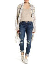 Michael Stars | Morning Side Plaid Wrap | Lyst