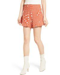 The Fifth Label - Peppers Polka Dot Ruffle Hem Shorts - Lyst