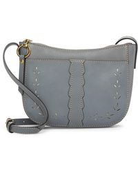 Frye - Ilana Perforated Leather Crossbody Bag - Lyst