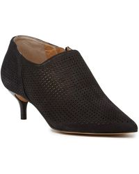 Franco Sarto - Deepa Suede Ankle Bootie - Wide Width Available - Lyst