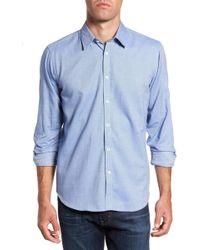 Jeremy Argyle Nyc - Slim Fit Oxford Cloth Sport Shirt - Lyst