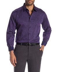 Robert Graham - Biltmore Long Sleeve Woven Shirt - Lyst