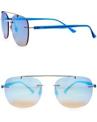 Ray-Ban - 50mm Square Sunglasses - Lyst
