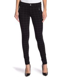 Democracy - Plaid Ponte Pants - Lyst