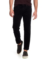 Vince - Solid Slim Tapered Fit Trousers - Lyst