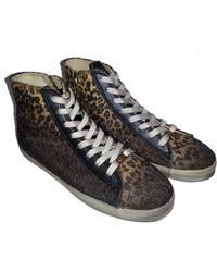 Kim & Zozi - Sierra Lace-up High Top Faux Fur Sneaker - Lyst