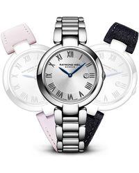 Bulova - Women's Shine Swiss Quartz Interchangeable Strap Watch, 32mm - Lyst