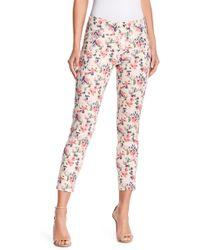 Jag Jeans - Amelia Floral Ankle Skinny Jeggings - Lyst