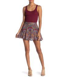Raga - Desert Flower Mini Skirt - Lyst