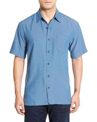 Kahala - 'wind N Sea' Regular Fit Sport Shirt - Lyst