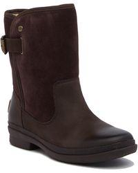 UGG - Oren Pure Leather & Suede Waterproof Boot - Lyst