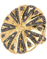 House of Harlow 1960 - Ornamental Medallion Ring - Size 6 - Lyst