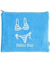 MIAMICA - Bikini Bag - Turquoise - Lyst