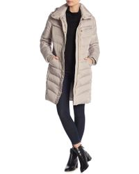 MICHAEL Michael Kors - Missy 3/4 Quilted Down Jacket - Lyst