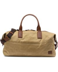 Frye - Carter Leather Trimmed Weekend Bag - Lyst