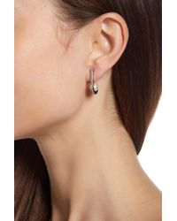 Vince Camuto - Ball Huggie Earrings - Lyst