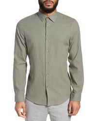 Calibrate - Linen Blend Sport Shirt - Lyst