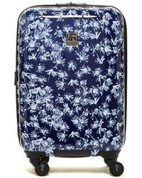 "Kenneth Cole - Bellis Hardside 20"" Expandable 4 Wheel Upright Suitcase - Lyst"