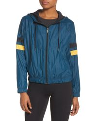 Zella - Style Game Colorblock Jacket - Lyst