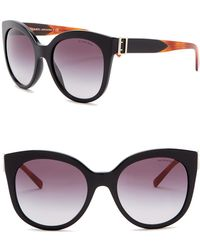 Burberry - 55mm Cat Eye Sunglasses - Lyst
