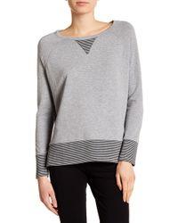 Karen Kane - Contrast Sweatshirt - Lyst