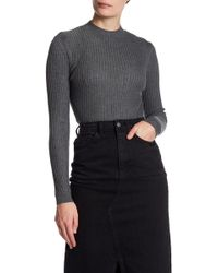 TOPSHOP - Framed Stitch Pullover - Lyst