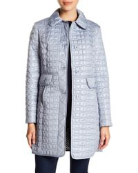 Kate Spade - Quilted Coat - Lyst