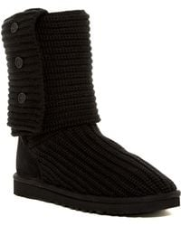 UGG - Classic Cardy Genuine Sheepskin Lined Boot - Lyst