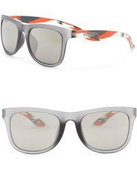 PUMA - 51mm Square Sunglasses - Lyst