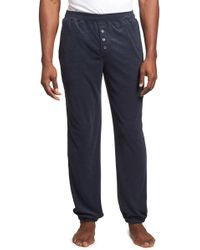 Bread & Boxers - Button Fly Joggers - Lyst