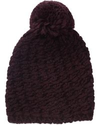UGG - Yarn Pom Knit Hat (port) Caps - Lyst