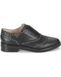 French Connection - Marissa Leather Stud Accent Oxford - Lyst