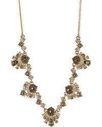 Givenchy - Crystal Cluster Necklace - Lyst