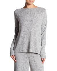 Betsey Johnson | Strappy Ladder Back Cutout Sweater | Lyst