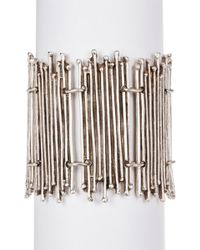 TMRW STUDIO - Beaded Bar Bracelet - Lyst