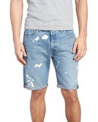 Levi's - (r) 501(r) Cutoff Denim Shorts - Lyst