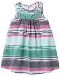 Joe Fresh - Striped Linen Dress (baby Girls) - Lyst