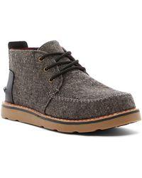 TOMS - Charcoal Fleck Chukka Boot - Lyst