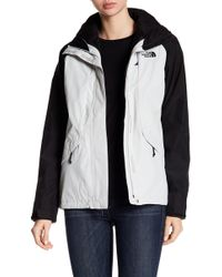The North Face - Boundary Faux Fur Lined Colorblock Jacket - Lyst