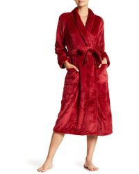 N Natori - Shawl Collar Plush Robe - Lyst