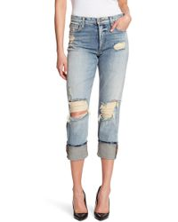 734e45b9657a88 Joe s Jeans - The Smith High Rise Straight Leg Ankle Jeans - Lyst