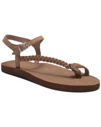 Rainbow Sandals - Marley Side Braid Ankle Strap Sandals - Lyst