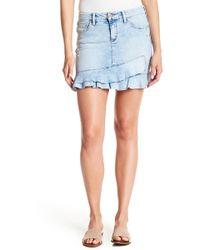 Jessica Simpson - Kiss Me Ruffle Mini Skirt - Lyst