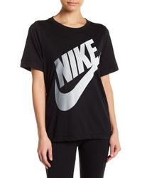 Nike - Short Sleeve Logo Futura Tee - Lyst