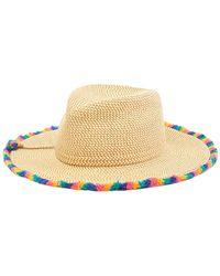 5d3607042ab Eric Javits - Frida Frayed Squishee Sun Hat - Lyst